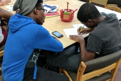 A tutor helps a student find the answer